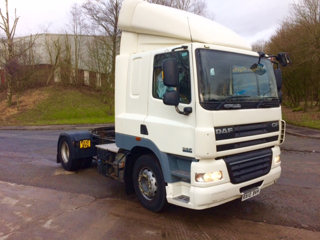 2010 DAF CF85 4X2 410 BHP 2010 Euro 5 (Large Choice)