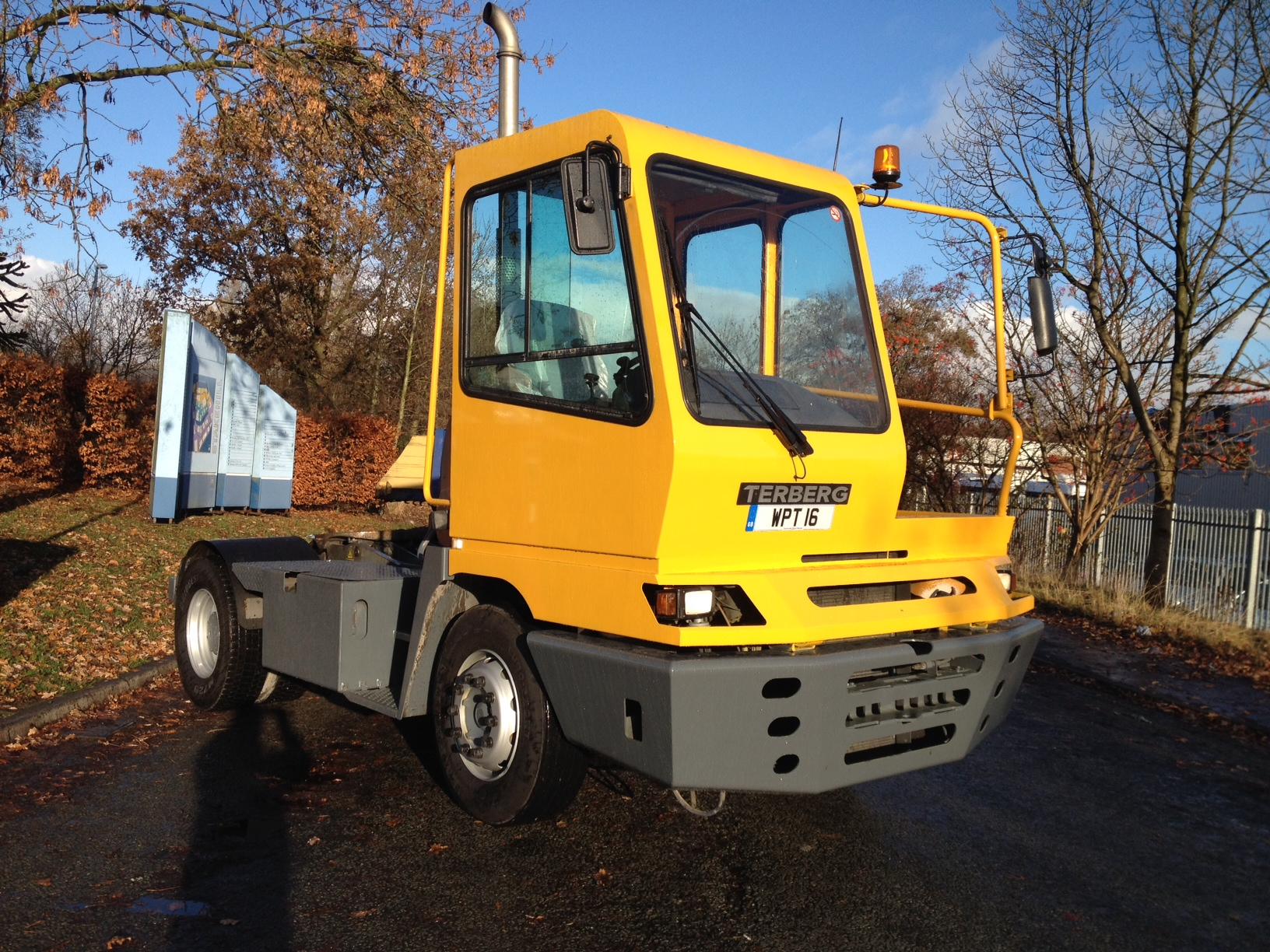 Terberg YT 182 Shunter for HIRE