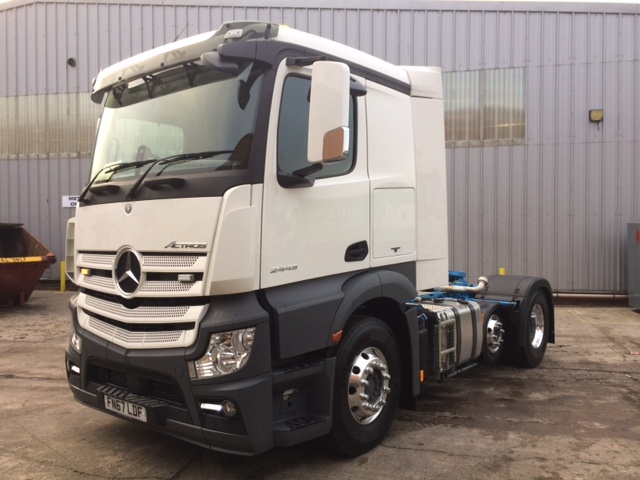 New Mercedes Actros 2443 Light Weight.