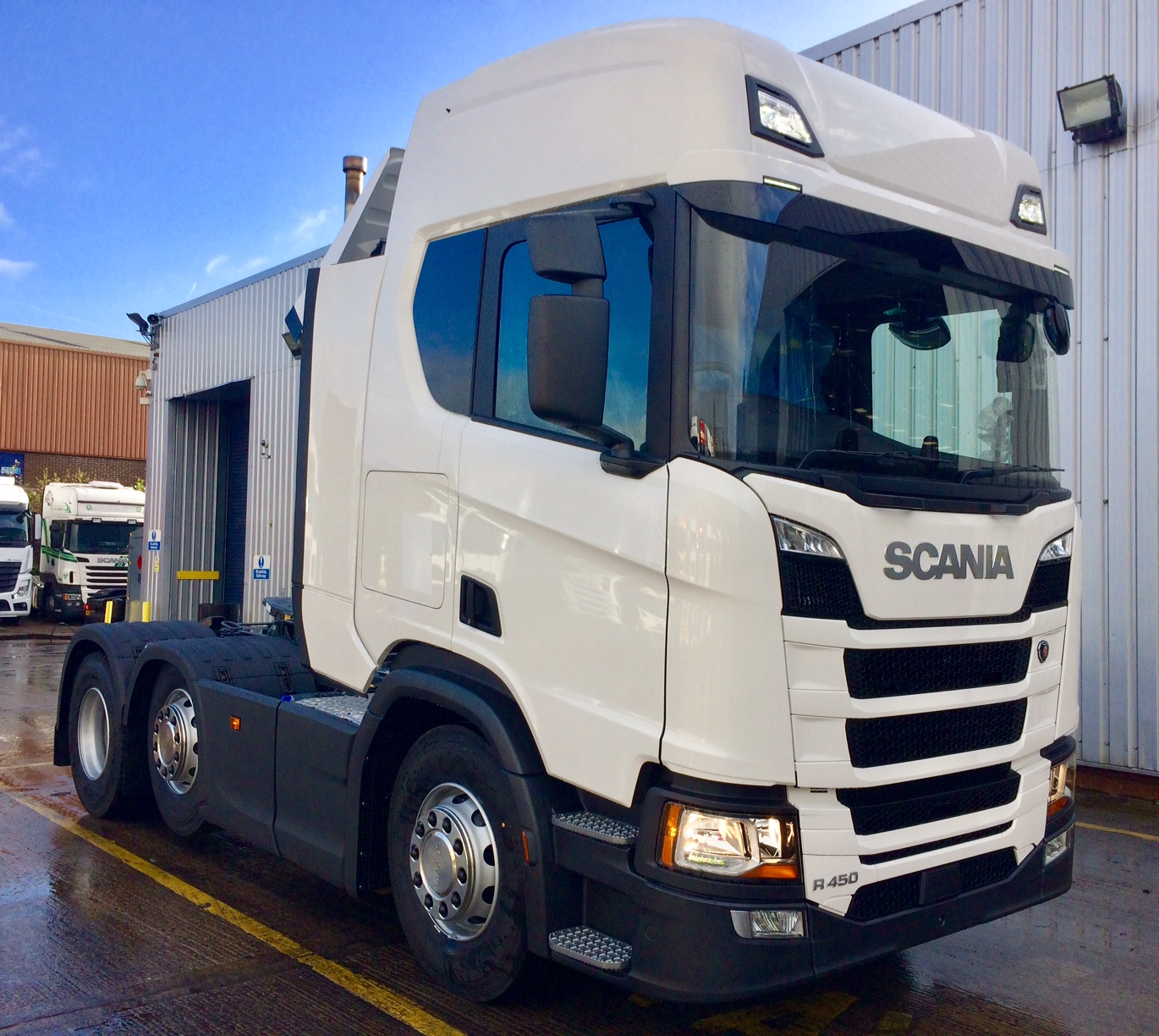 NEW Scania R450 6×2's