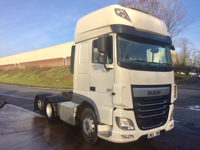 Daf XF105 460 Super Space Tag Axle Euro 6 (Choice